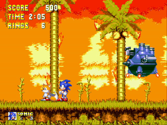 Sonic 3 Complete - Battle  - Yawn - User Screenshot